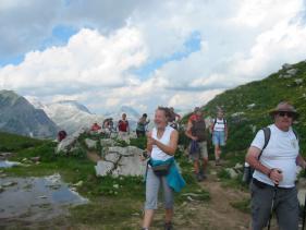 Wandelvakantie in het Lechtal  juli 2010
