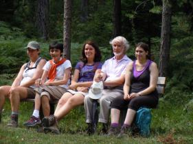 Wandelvakantie Sonnenplateau : augustus 13