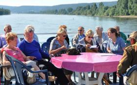 De Rijn met Dilbeek  augustus 2013